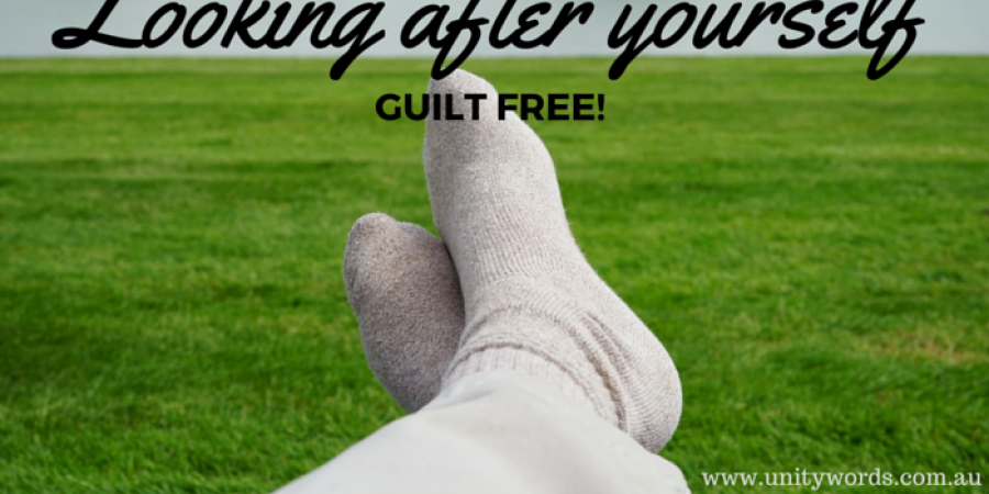Looking After Yourself - Guilt Free
